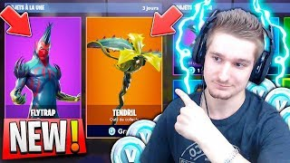 NEW SKIN ATTRAPE-MOUCHES LEGENDON FORTNITE BATTLE ROYALE 😱