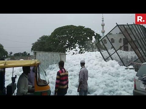Bengaluru's Bellandur Lake Froths Again