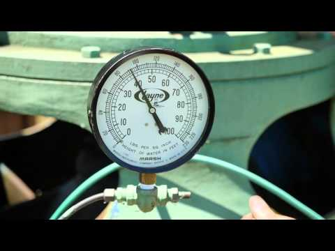 Water Level Measurement Using the Airline Method