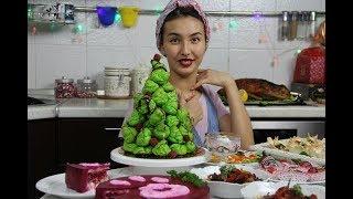 Меню На Новый Год 2018 🎄 Новогодние Рецепты 🎄 Новогоднее Меню Кутикай