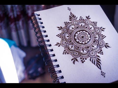 Easy Henna Mandala for Beginner | Full Tutorial Step-by-Step