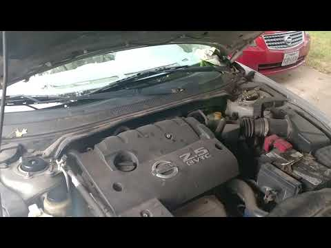 Nissan Altima AC clutch issue. Easy fix for $1.