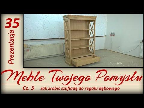 Jak zrobić szufladę do regału dębowego cz. 5 / How to make a drawer for an oak bookcase
