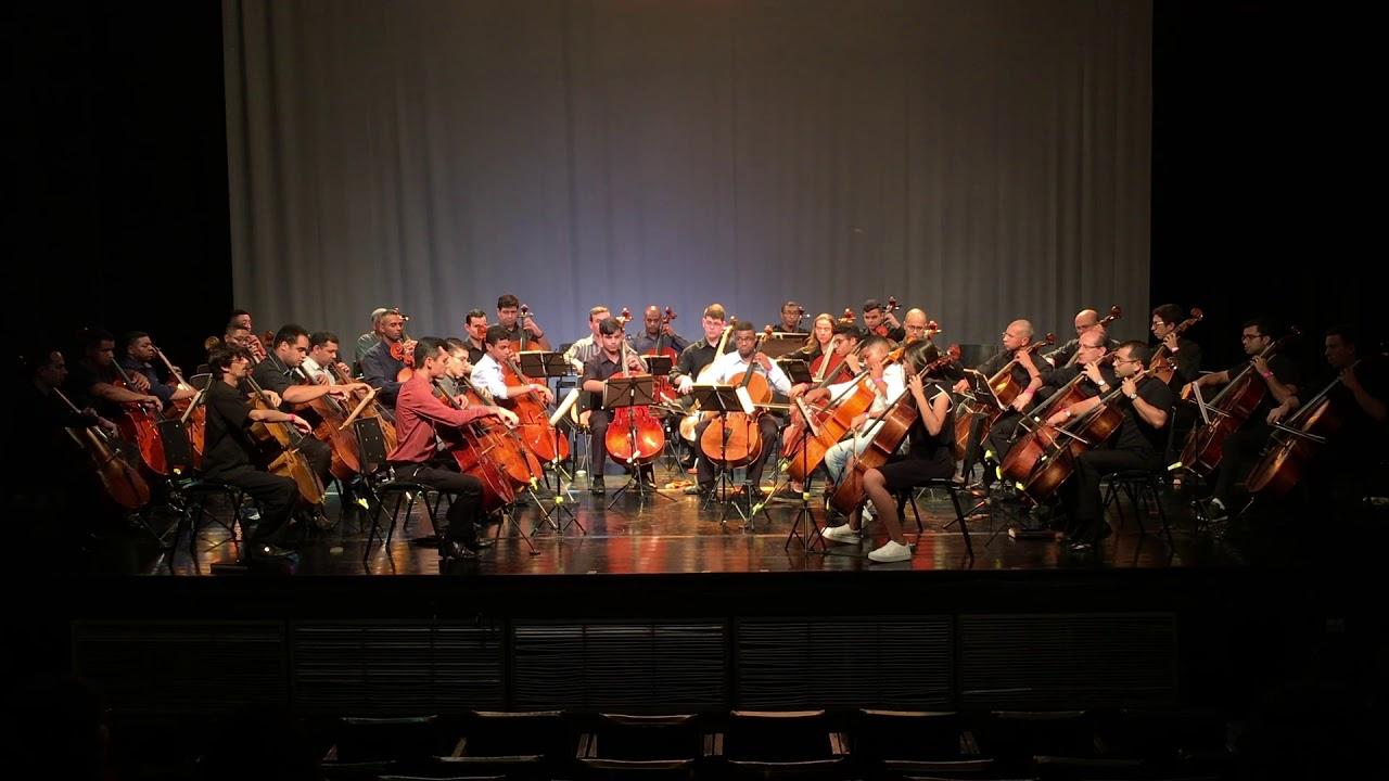Orquestra de Cellos - Hino 78 CCB