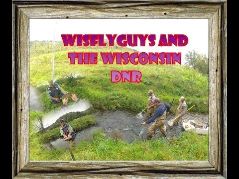 Wisconsin DNR Shock Trout Stream