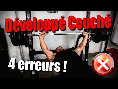 Tu fais MAL ton Développé Couché !!!