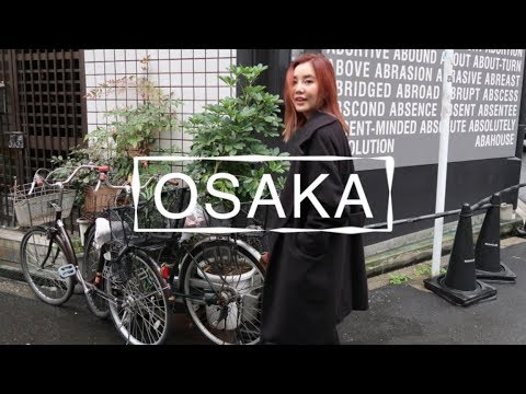 OSAKA VLOG | Mukbang, Shopping, & Sightseeing 🇯🇵