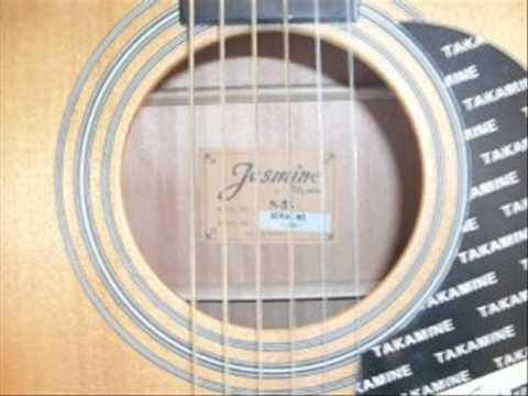 jasmine by takamine s35 acoustic guitar natural youtube. Black Bedroom Furniture Sets. Home Design Ideas