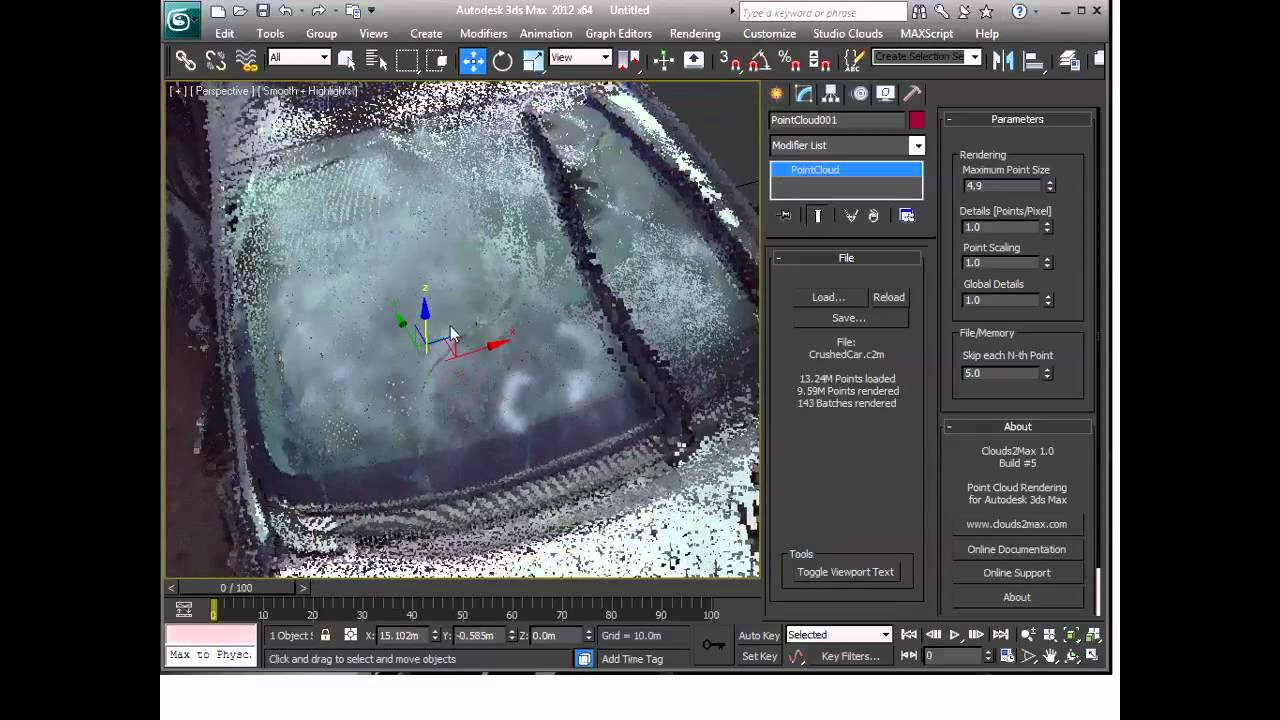 New way to get point clouds into 3ds Max - SPAR 3D