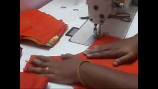 Blouse Stitching Step by Step English
