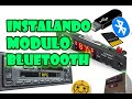 COMO INSTALAR MODULO BLUETOOTH, USB, MICRO SD, AUXILIAR, RADIO FM A CASETERA DE CARRO