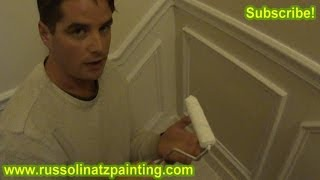 Diy How To Paint & Prepare New Crown Molding (part 6)