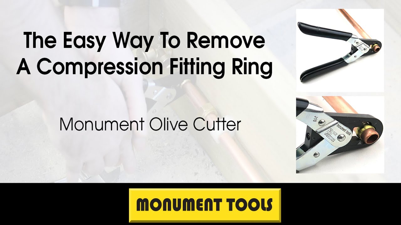 The Easy Way To Remove A Compression Fitting Ring
