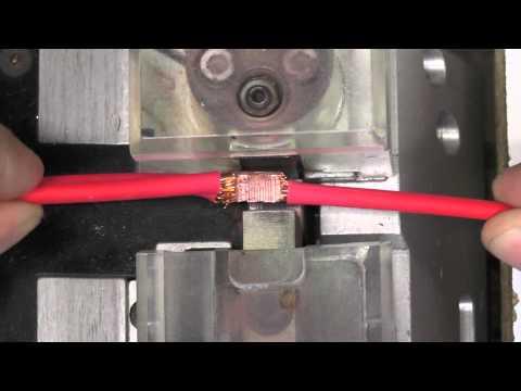 How A Wiring Harness Splice is Ultrasonically Welded
