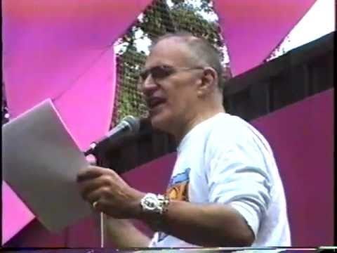 Gay Pride Rally 1991: Larry Kramer's keynote speech