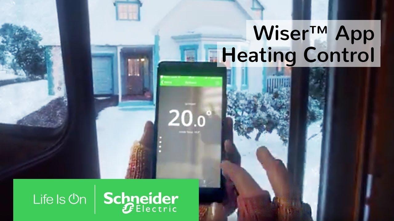 Wiser™ App for Smart Thermostats & Heating Control | Schneider ...