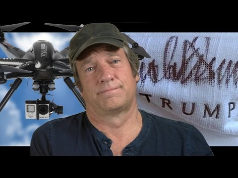 Mike Rowe Wears Trump's Robe, Fights a Drone, and Solves the