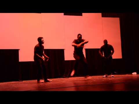 Quentin Mulbah, Andre Burch, and Eric Parson - 2014 Truman Talent Show