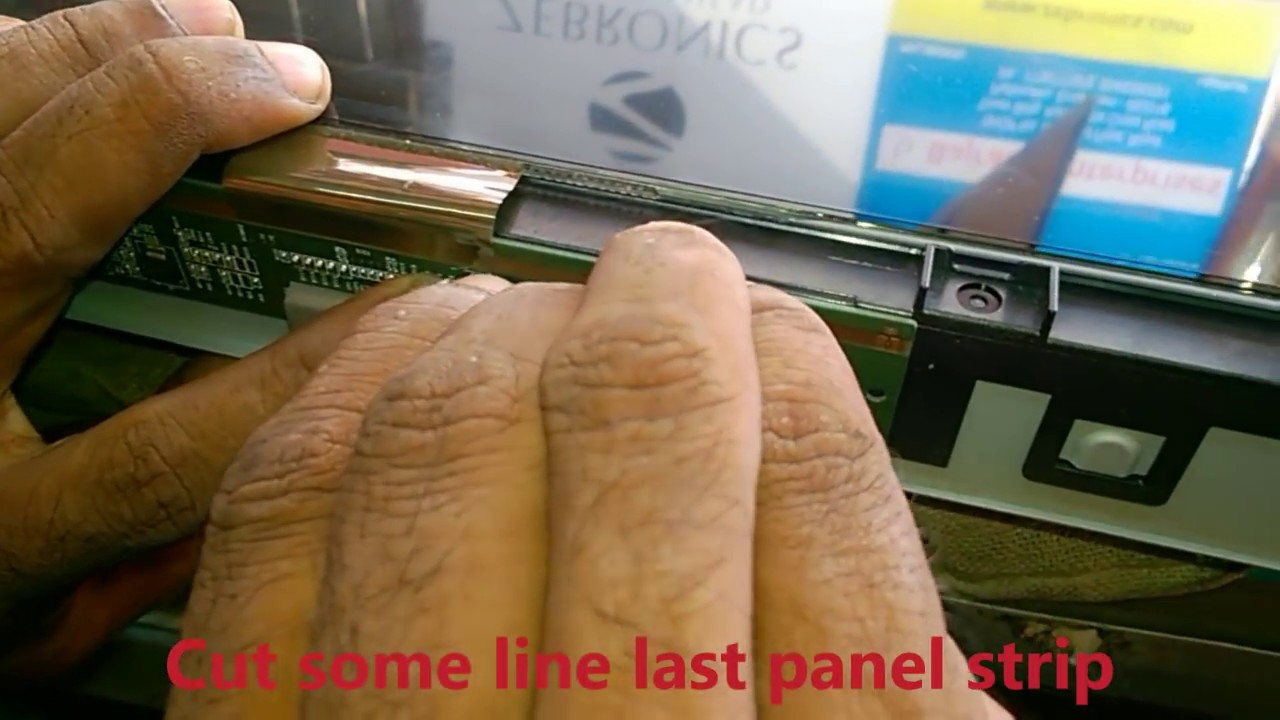 Lcd Tv Repair >> How to repair Lcd tv double image Complaint - YouTube