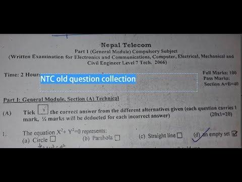 nepal telecom old question