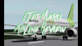 Jet Maru | ROBLOX AIRLINES | Crash Landing!