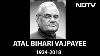 Former PM Atal Bihari Vajpayee Dies at 93