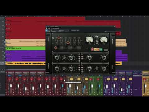 Acustica Audio Brown - vintage, military-inspired mixing plugin suite