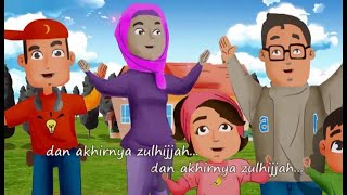 Voices Of Ummi - Bulan-Bulan Islam | Kids Song | Kids Videos | Kids Channel