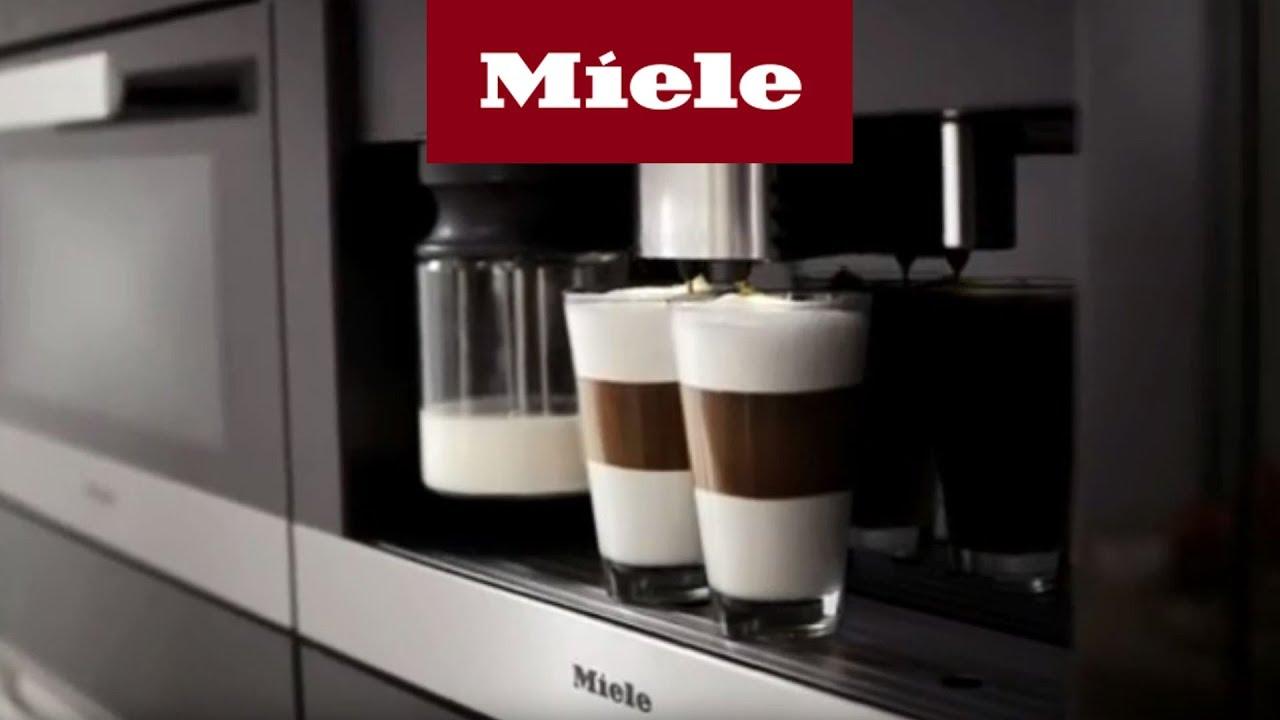 Einbaukaffeevollautomaten  Einbau-Kaffeevollautomaten mit Bohnensystem - YouTube