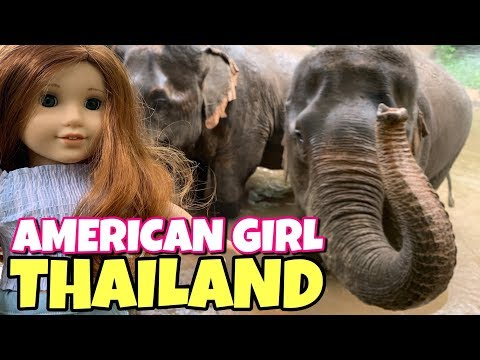 American Girl Doll In Thailand - Blaire's First Trip - 2019 Girl Of The Year