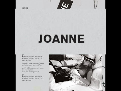 Lady Gaga - Joanne Lyrics [ Booklet ]