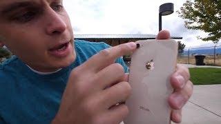 РАЗБИЛ iPhone 8 В ПЕРВЫЙ ЖЕ ДЕНЬ