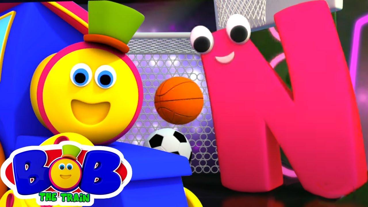 Canzone Dell'alfabeto   Lettera N   Cartoni animati per bambini   Bob The Train   Canzoni italiane