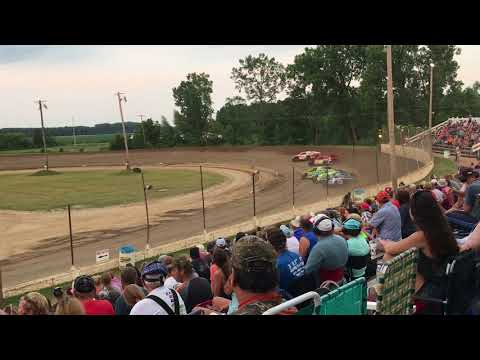 Crystal Motor Speedway Modified Heat Races 7/3/2018