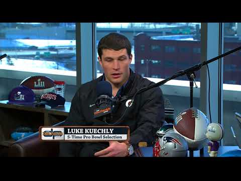 Panthers LB Luke Kuechly on The Dan Patrick Show | Full Interview ...