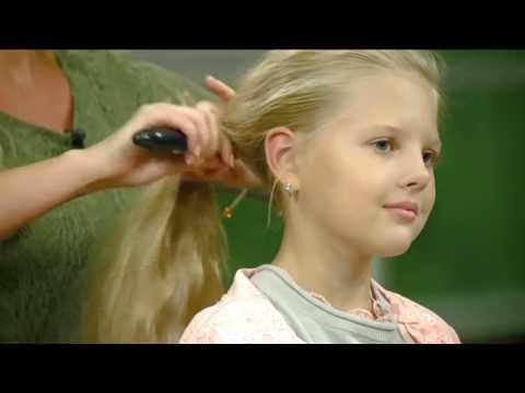 Как сделать ребенку хвостики