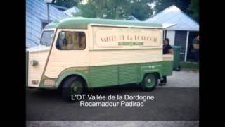 Le TUB Citroën Tubby office de tourisme mobile Vallée de la Dordogne 2015