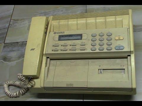 Разбираем факс AT&T Southwestern Bell Freedom phone