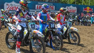 2019 Motocross of Nations Team USA Press Conference | Racer X Films