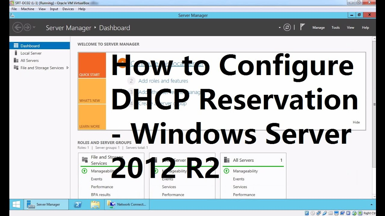 Dhcp server for mac os