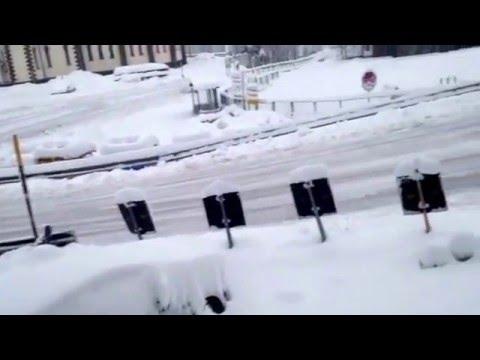 Falcade- 3 marzo 16: abbondante nevicata nella notte