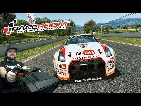 Скоростная онлайн-гонка за рулём Nissan GT-R на Mount Panorama в RaceRoom Racing Experience
