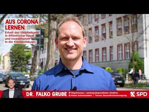 Erhalt des Uniklinikums in öffentlicher Hand / Investitionen in Krankenhäuser - Dr. Falko Grube, SPD