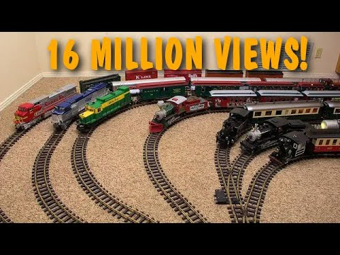 Every One Of My Model Trains Appears In This Video!