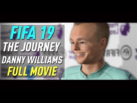 FIFA 19 Danny Williams THE JOURNEY FULL MOVIE (all cutscenes/cinematics)