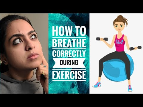 How to Breathe Correctly during Exercise   GetFitwithKathakali