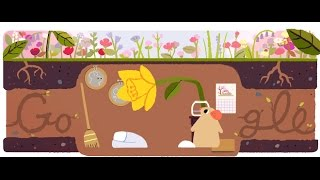 First Day Of Spring, 2017 (Northern Hemisphere) - Google Doodle