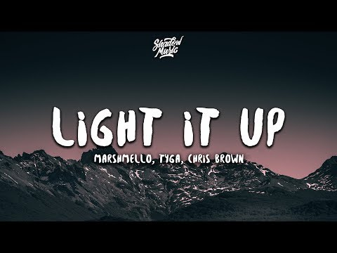 Marshmello Tyga Chris Brown - Light It Up