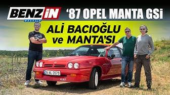 87 Opel Manta GSi | 5 kez Türkiye Ralli Şampiyonu Ali Bacıoğlu | Bir tur versene