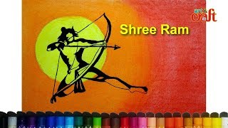 how to draw ram step by step / Ram Navami D2